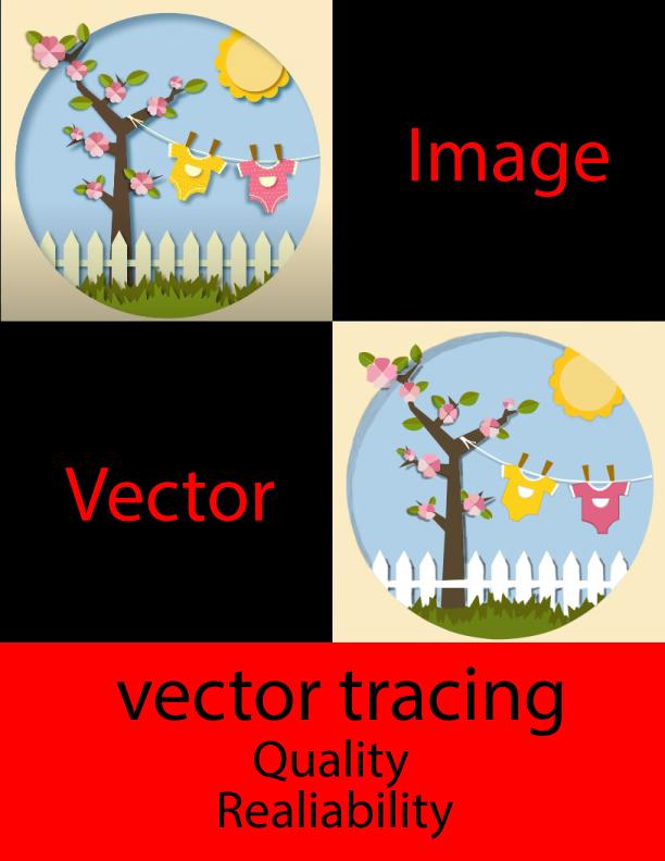 I will vector tracing,  vectorise logo or convert image to vectors