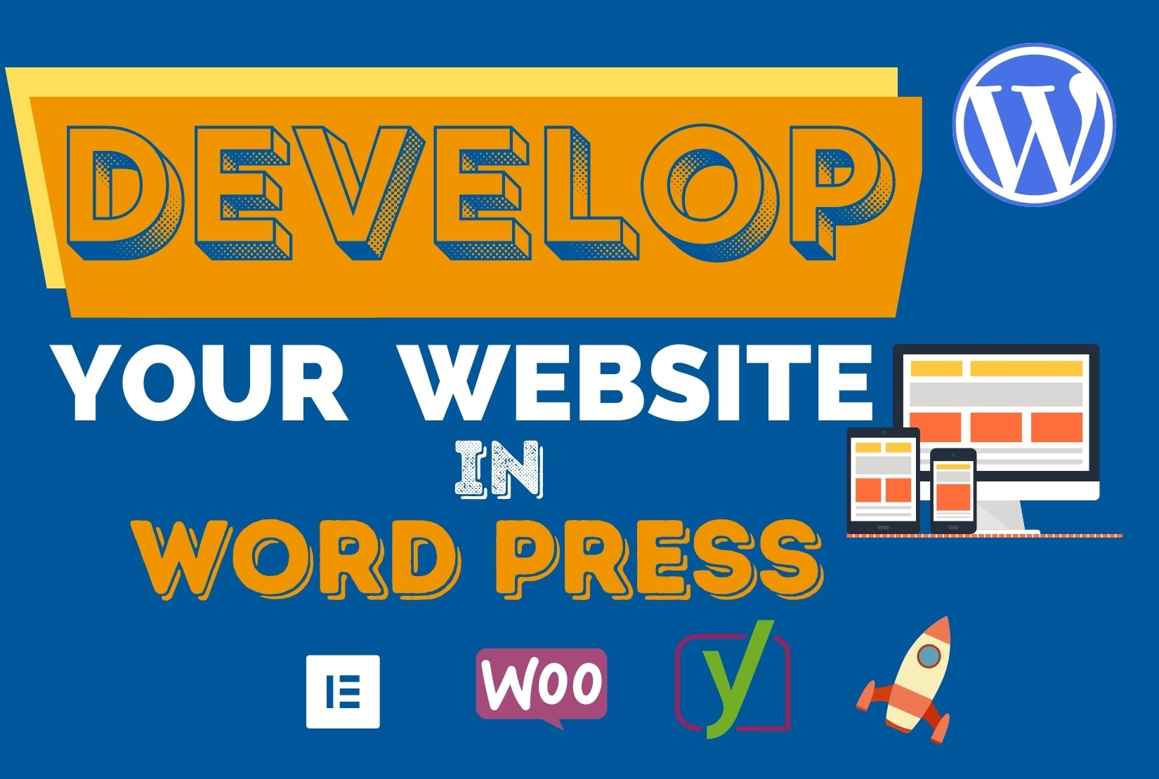 I will develop, redesign, customize and build responsive WordPress website