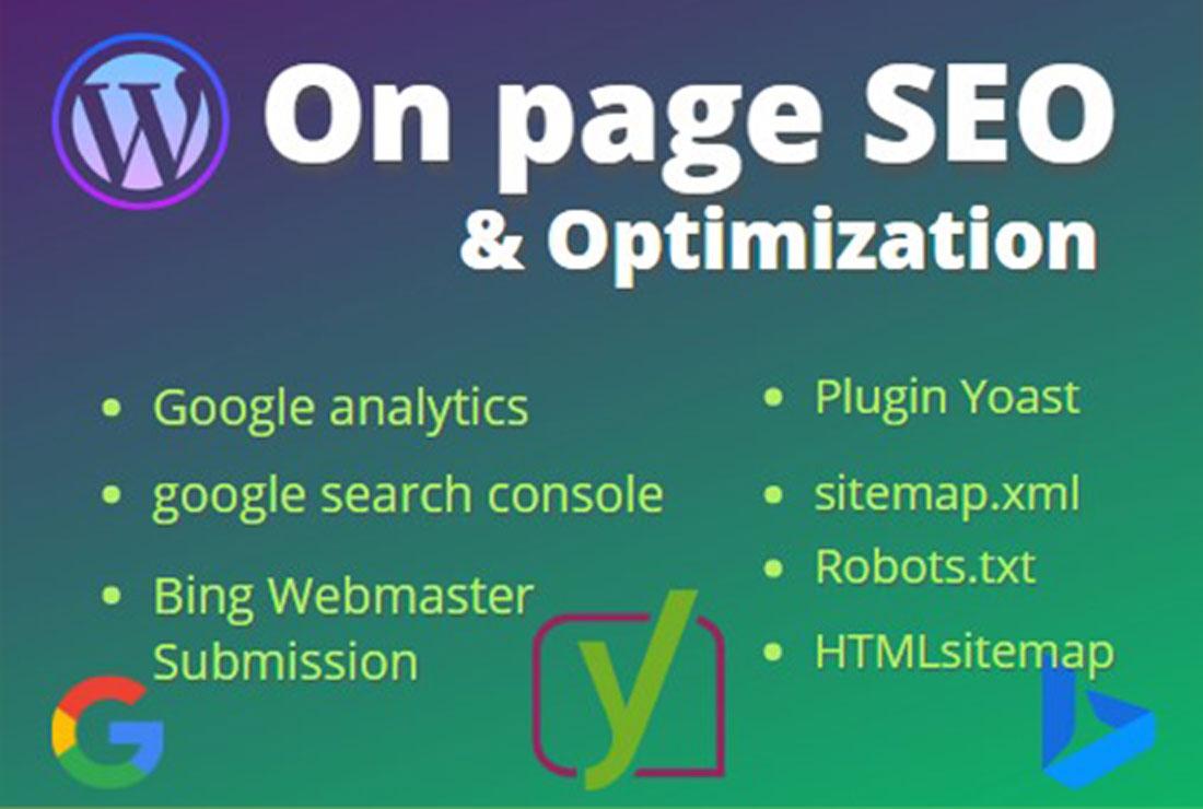 onpage SEO optimization service of wordpress website