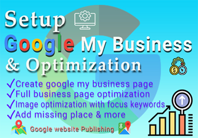 I will Setup google my business page and optimize