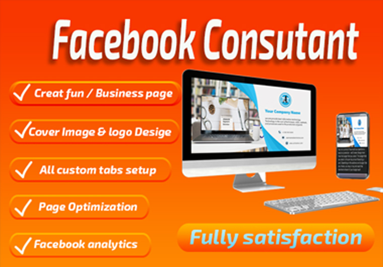 Facebook fun / Business page creation and Consultant