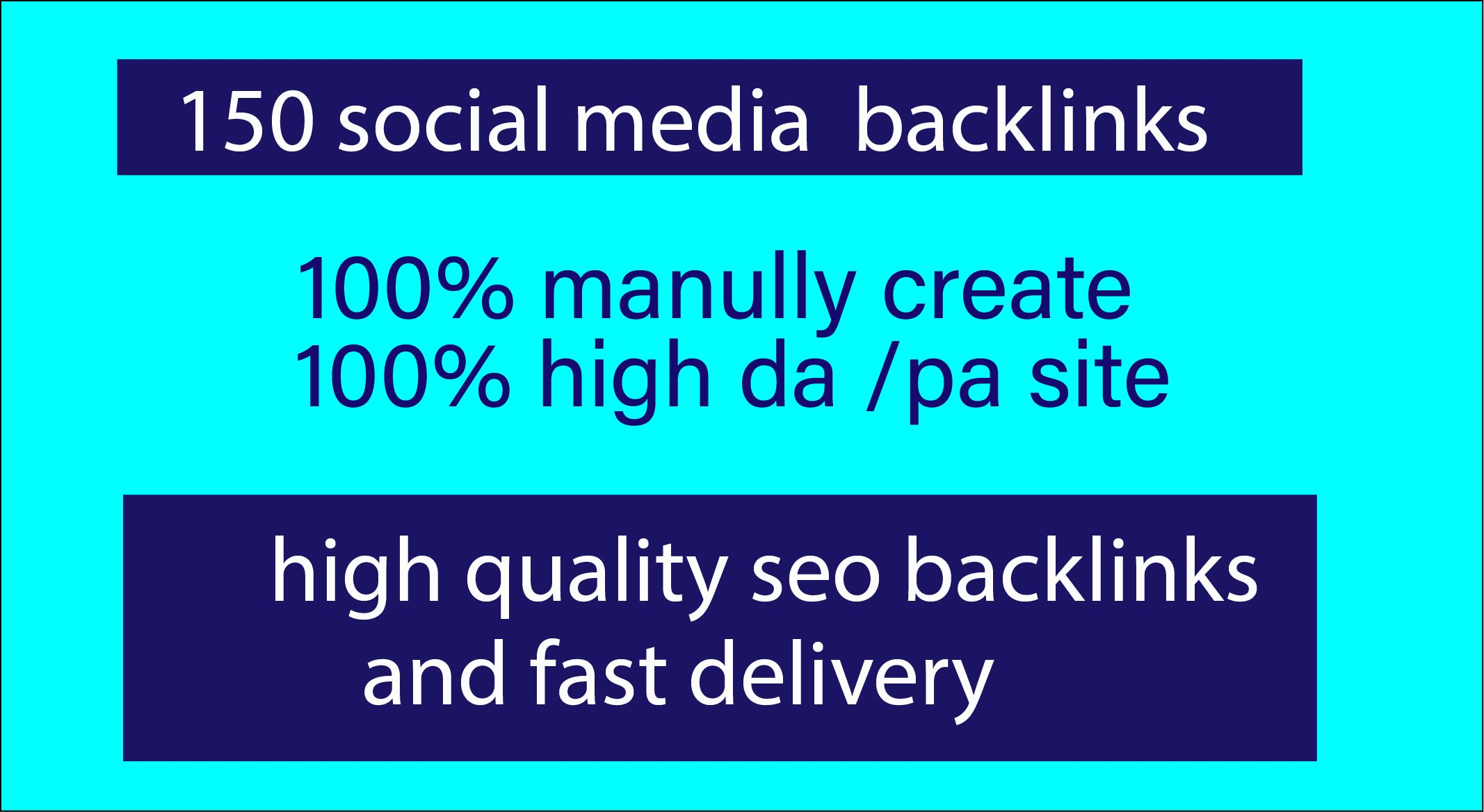 150 social media bookmark backlinks for SEO