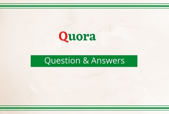 I will answer 30 High Quality Quora Answer With SEO Clickable Backlinks