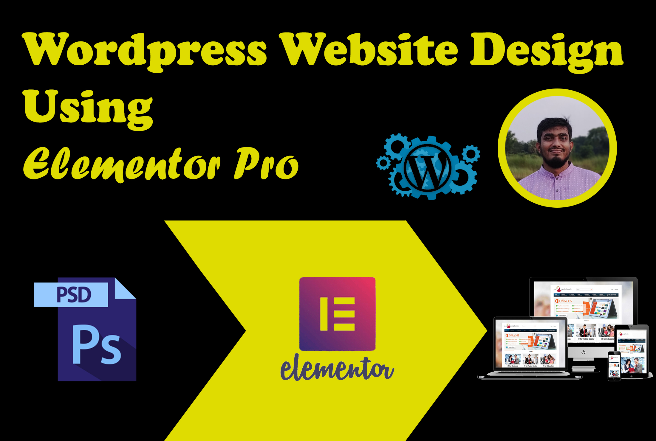 I will create or redesign wordpress website or landing page using elementor