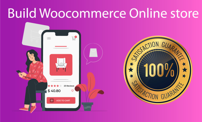 Create fully professional ecommerce website by woocommerce