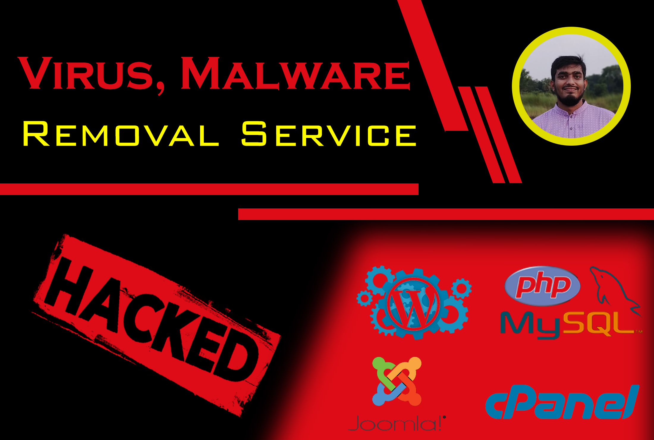 Remove malware and fix hacked websites and security
