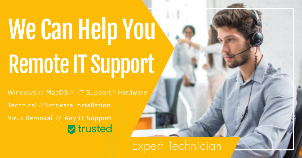 I will provide Remote mac or Windows support 15 years experience