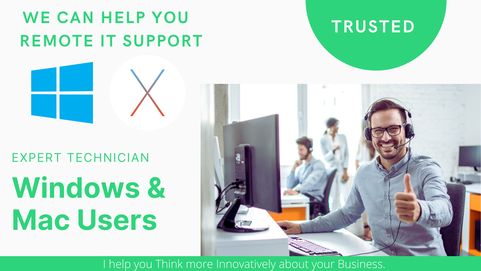 I Will Provide 24/7 Tech Support For Windows & Mac Computers.