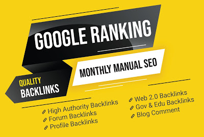 I will do complete monthly SEO package with high quality backlinks.
