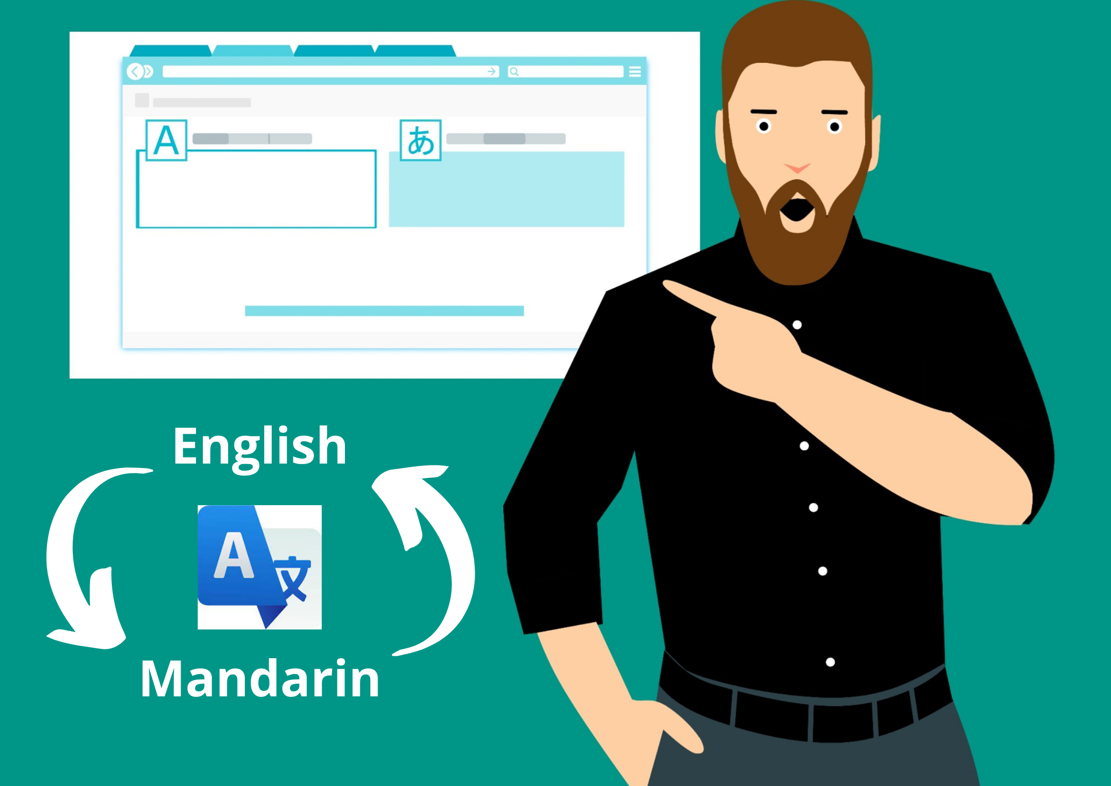 I will translate any text document 500 words from Mandarin to English or English to Mandarin