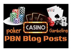 Get Powerful 15 Casino HQ High DA DR 70+ Permanent HomePage Dofollow PBN BackLinks.