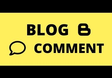 I will provide 100 blog comments seo Backlinks