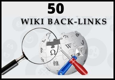 Provide You 50 High Authority Wiki Backlinks Mix Profile and Articles