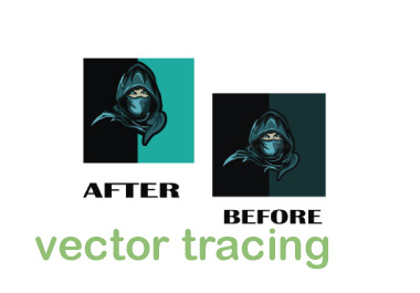 I will do vector tracing within 4 hour