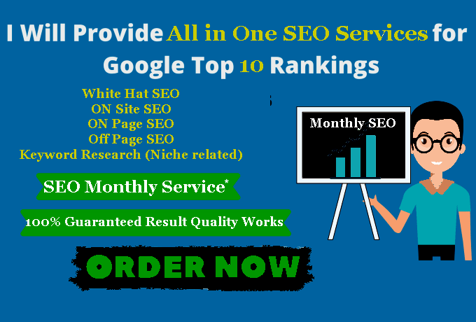 Monthly SEO Services All in one