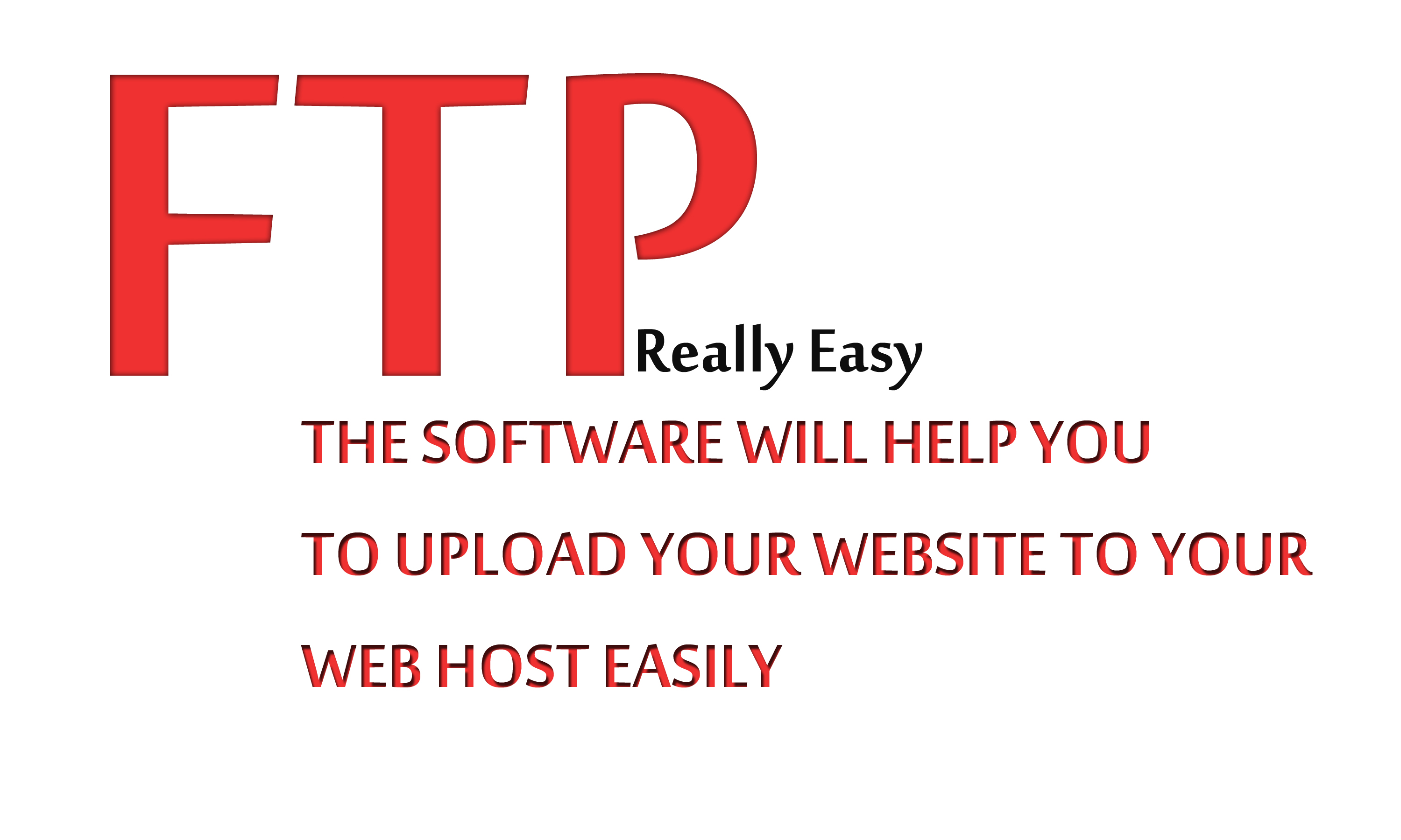 FTP upload your website to your web host easily