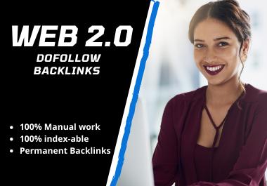 I will make 15 high authority DOFOLLOW Web 2.0 backlinks