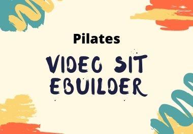 Pilates Video Site Builder video sit builder