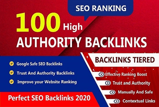 I will create 100 high authority dofollow profile backlinks for your website