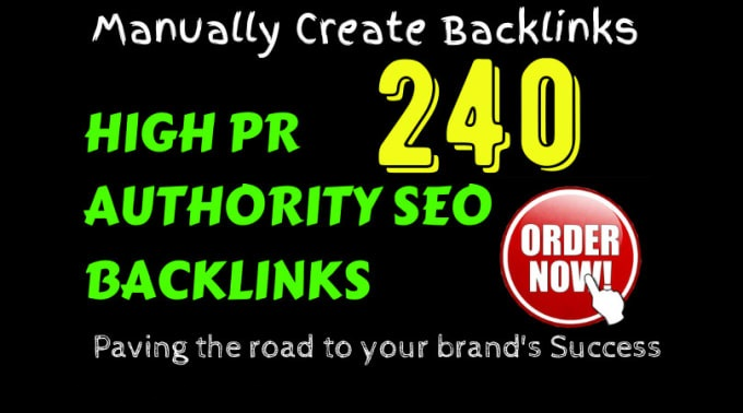 I will do 240 high pr Authority SEO Backlinks to google ranking