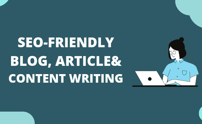 I will Do SEO optimized 1500 words content writing article / blog post / web