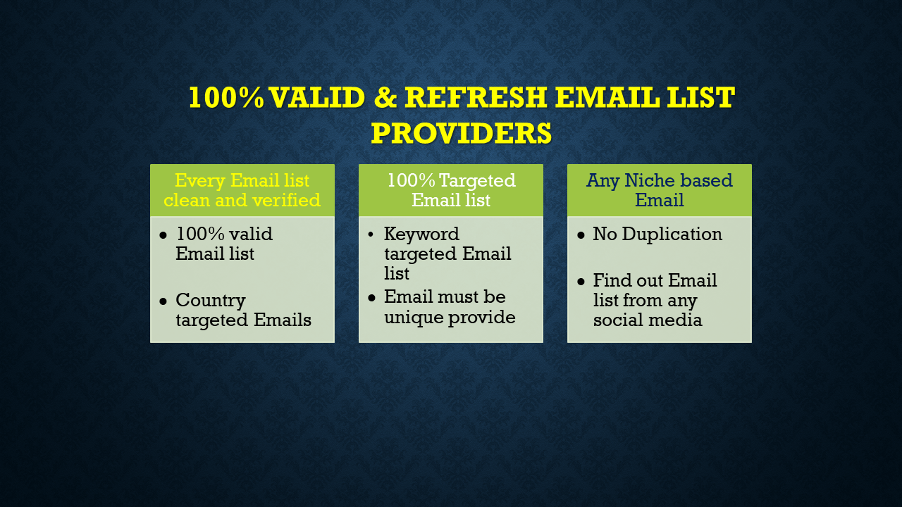 I will collect 5k niche targeted clean verified Email