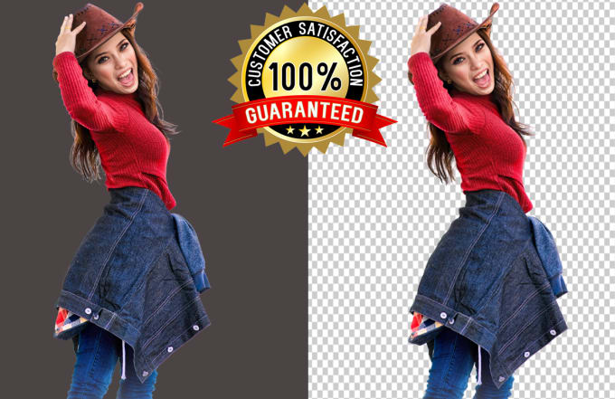 I will do 20 to 30 photos background removal
