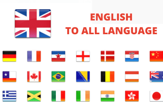 I will manually translate french, english, italian, spanish and all languages