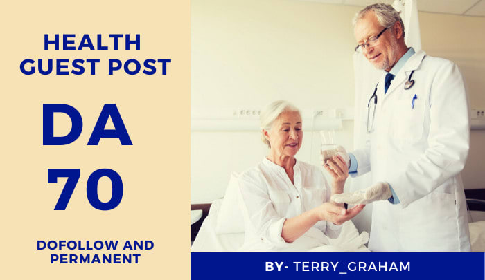 Do Health guest post on DA 40 Blog with Dofollow Link