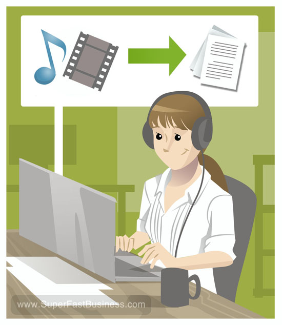 I will transcribe english audio to text transcription in 24 hours