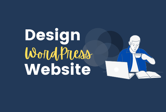 Design your Portfolio,  Business,  Blog WordPress website