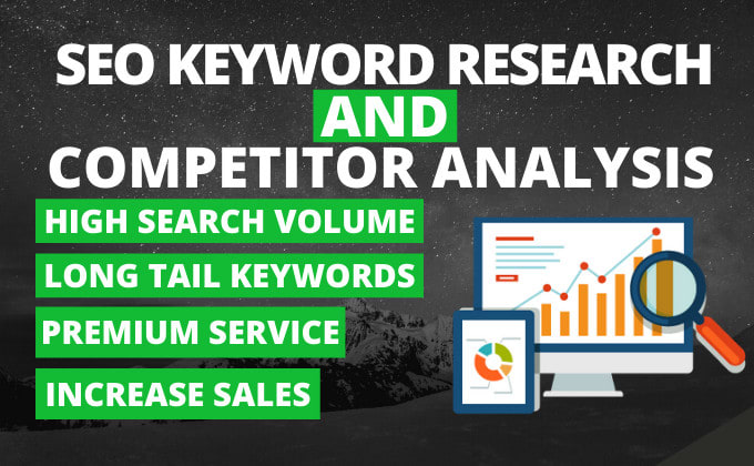 I will do low competitive keyword research and competitors analysis for local business