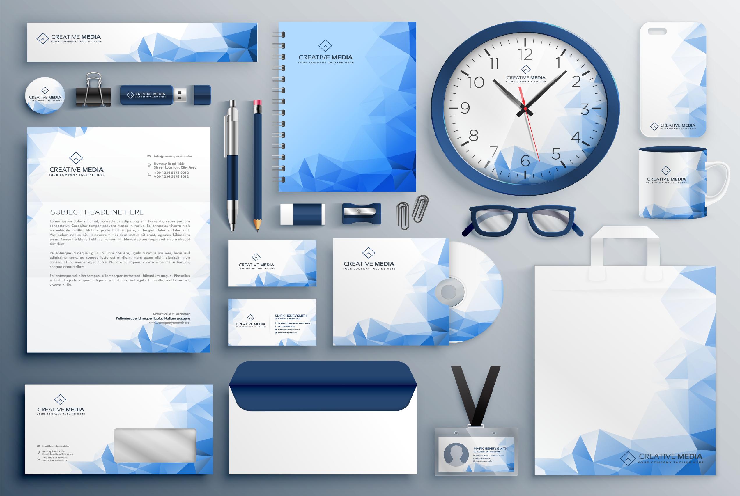 I will design stunning business card
