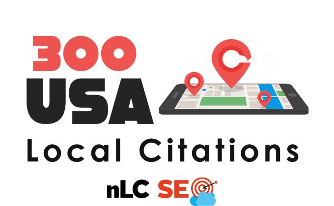 I will do local SEO citation,  google my business,  maps directory listing