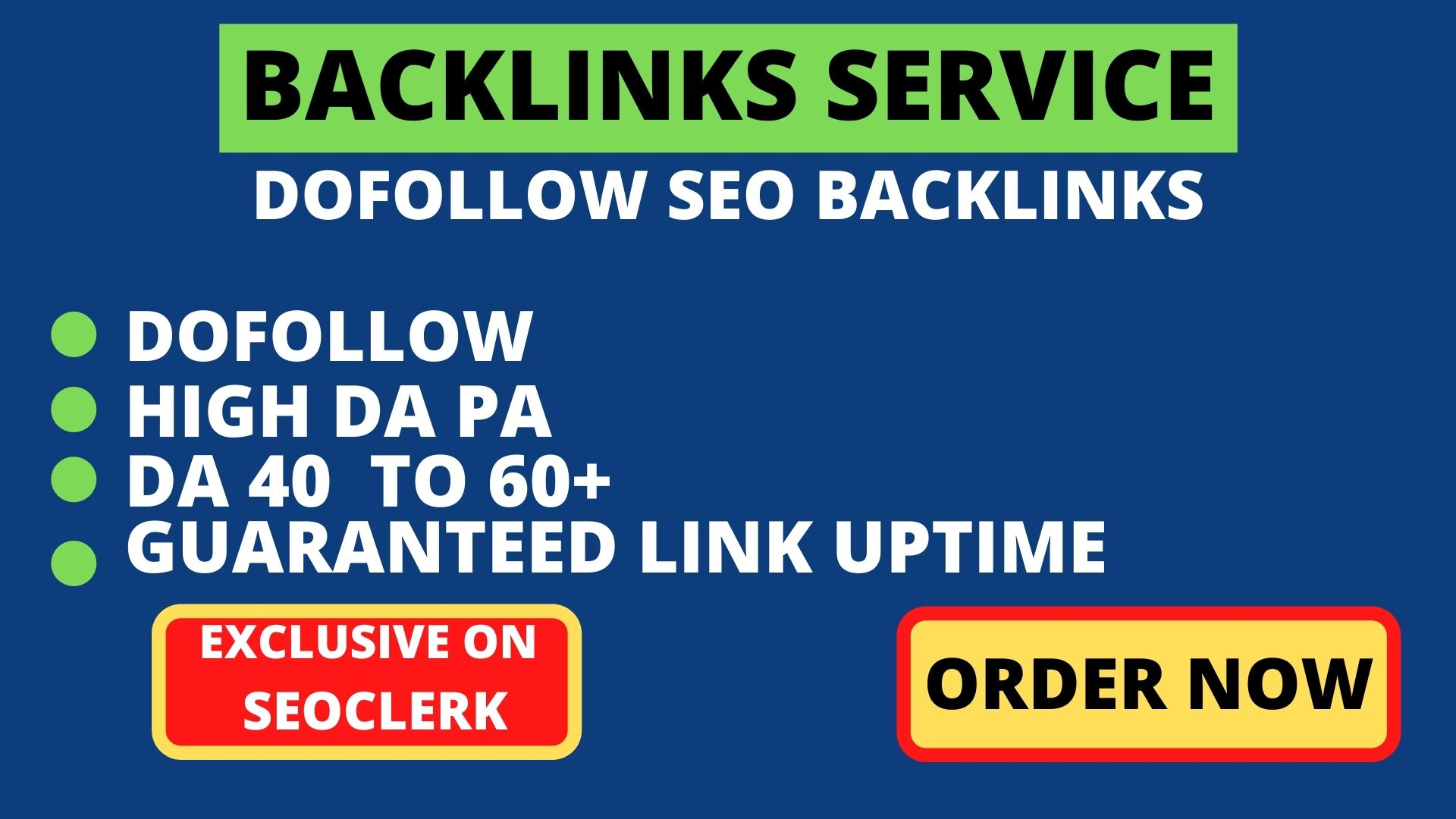 Build 25+ Backlink with high DA PA with Unique website