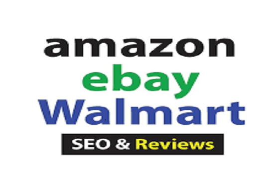 I will do SEO amazon walmart ebay ranking