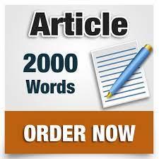 I will write 2000 words unique SEO article