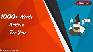I will write 1000 words SEO article on any subject
