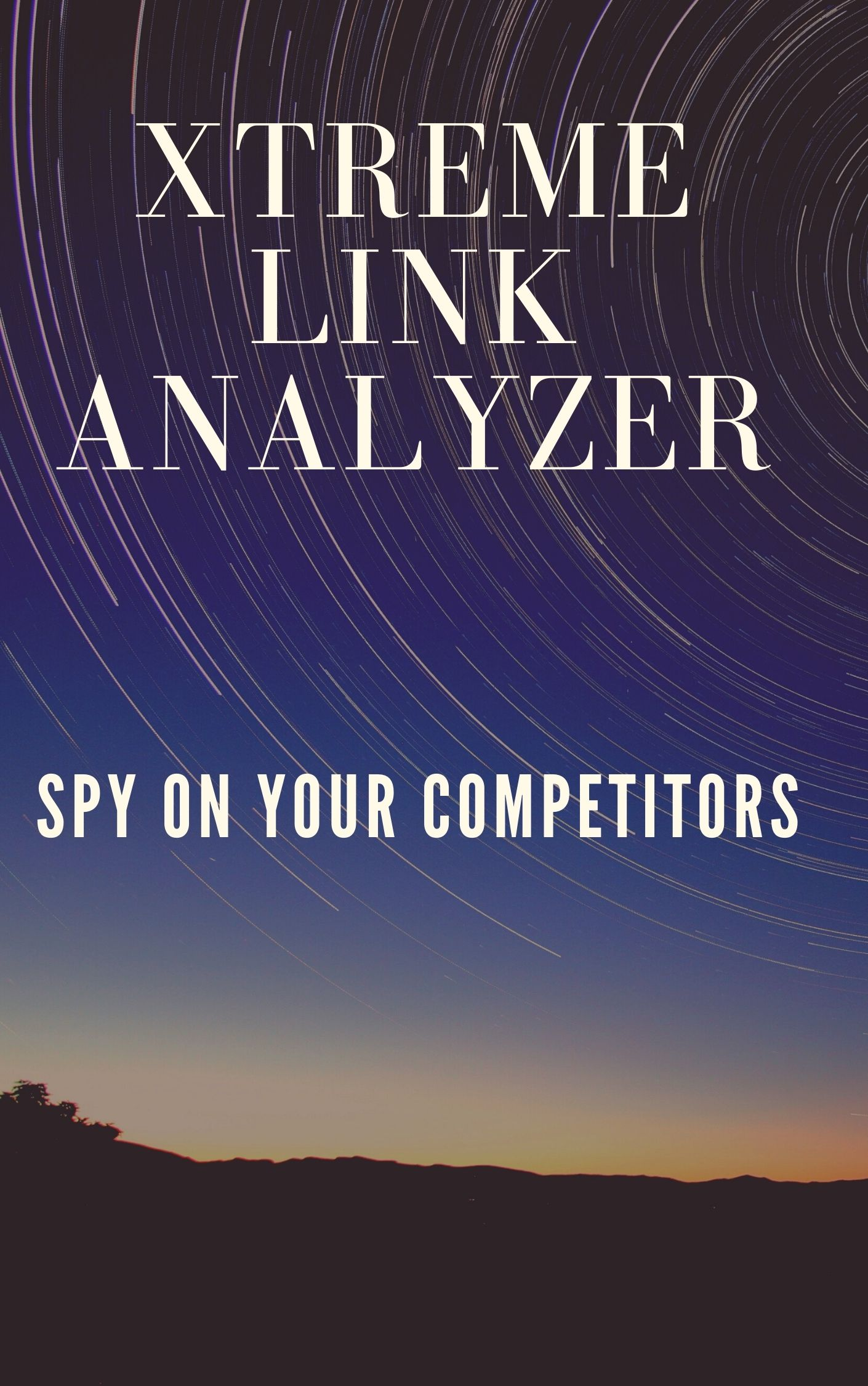XTREME LINK ANALYZER is a software developed for spying on your competitors