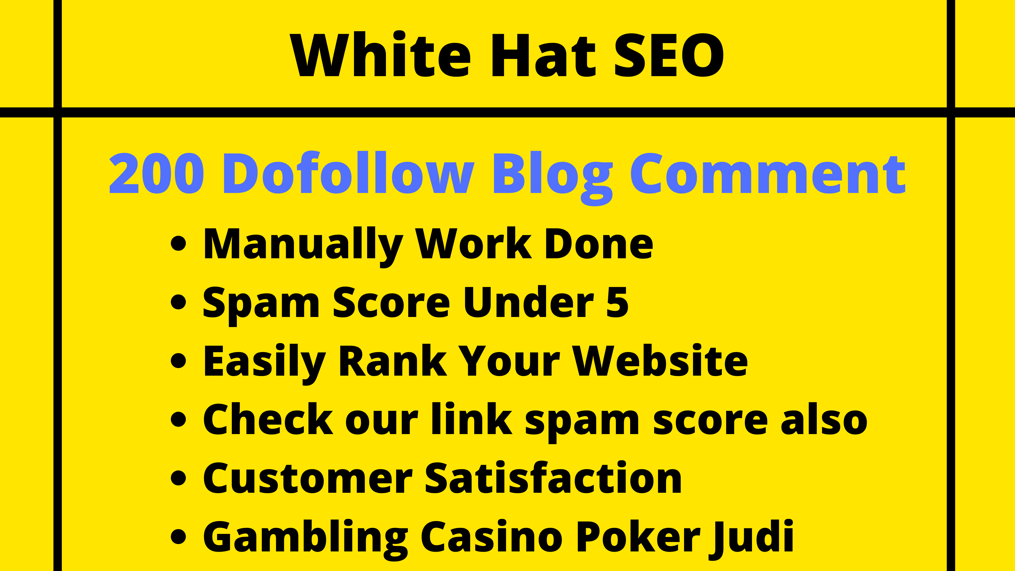 200 blog comment white hat seo backlinks high da sites