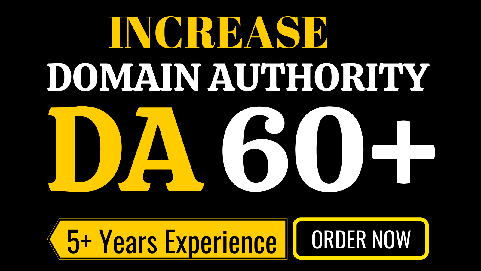 I will increase domain authority moz da 60 plus