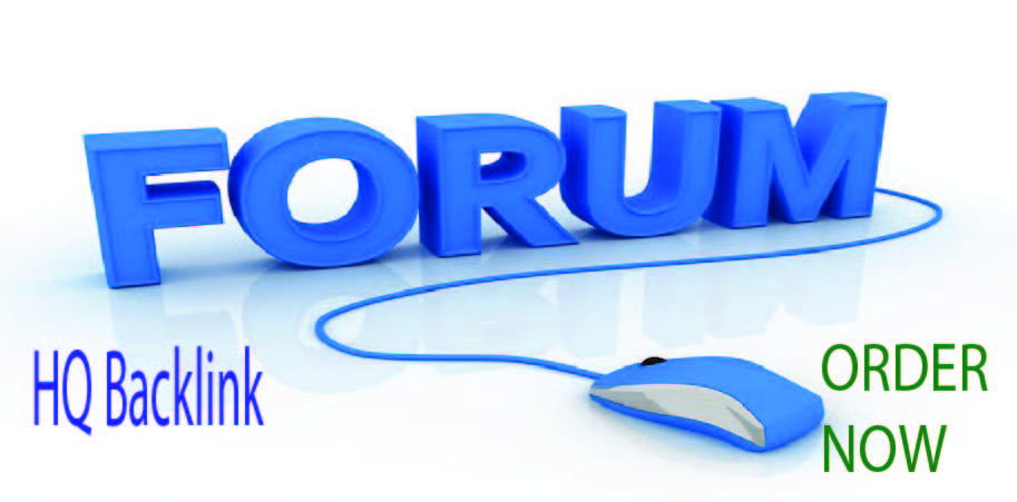 Write and published 30 FORUM Posting with HQ Backlink