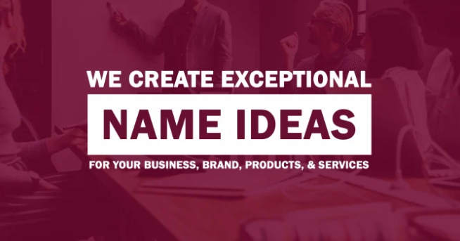 I will create exceptional business name,  brand name or company name with logo