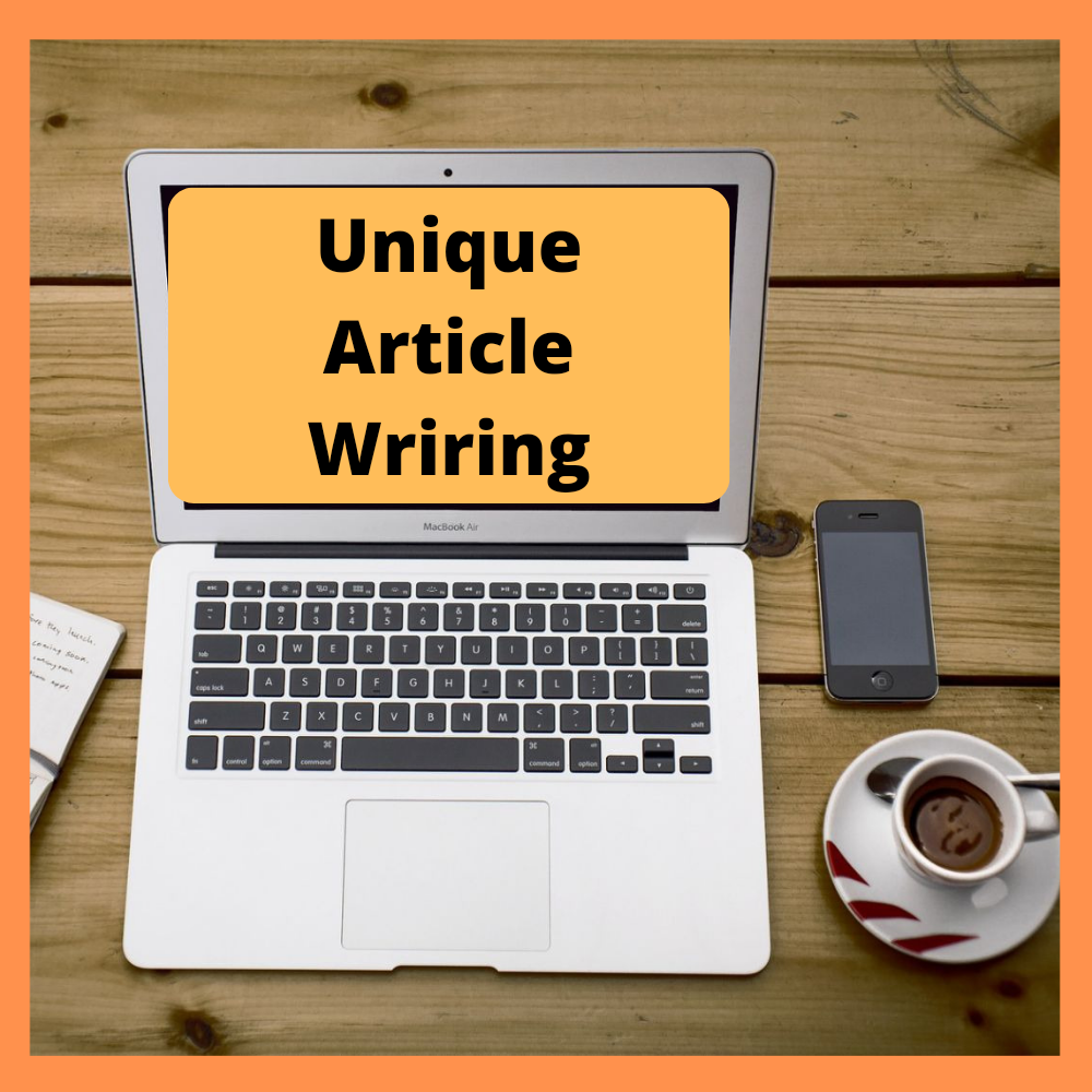 I will research and write unique articles and blog posts