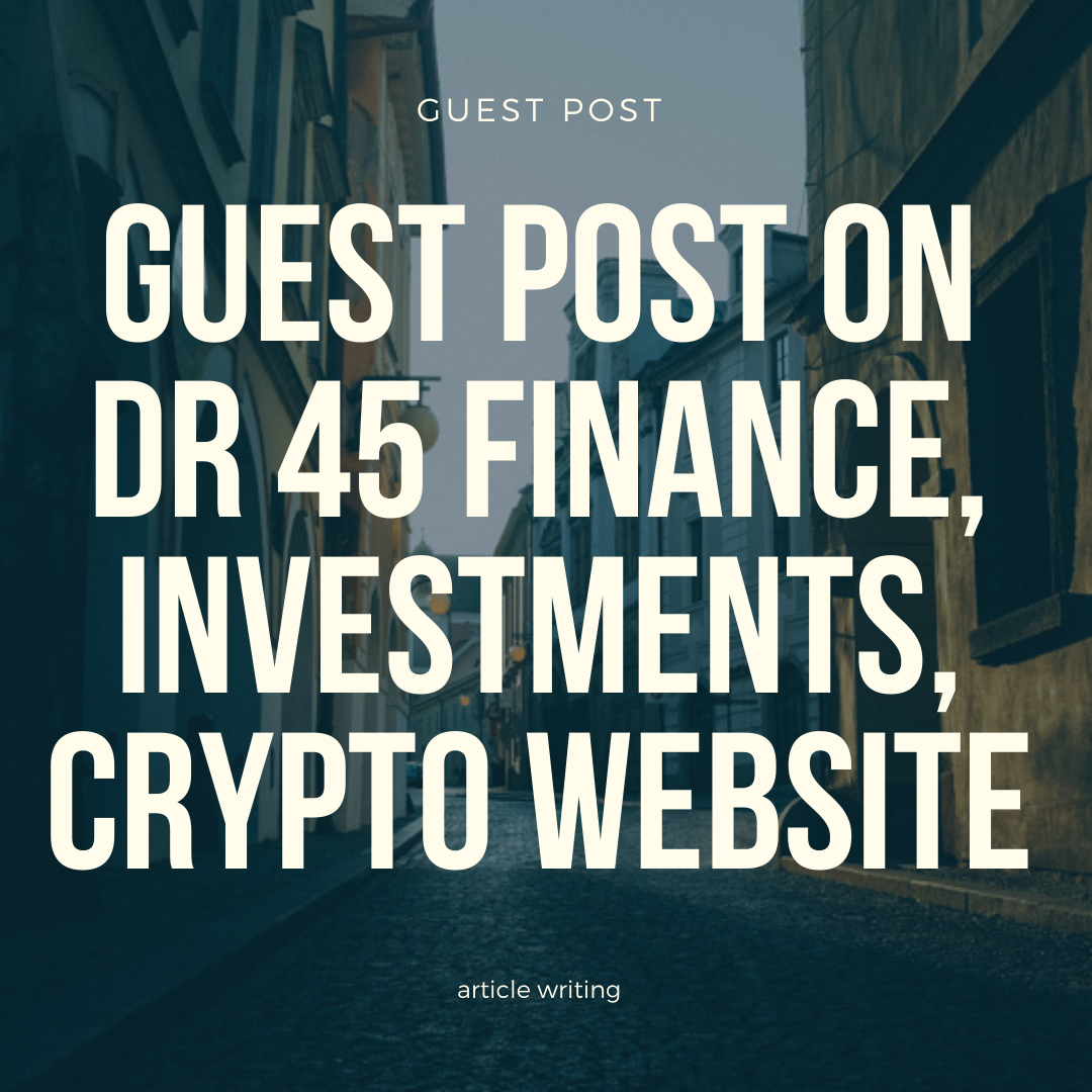 Guest post from Finance,  Crypto,  Investments niche DR 45 domain