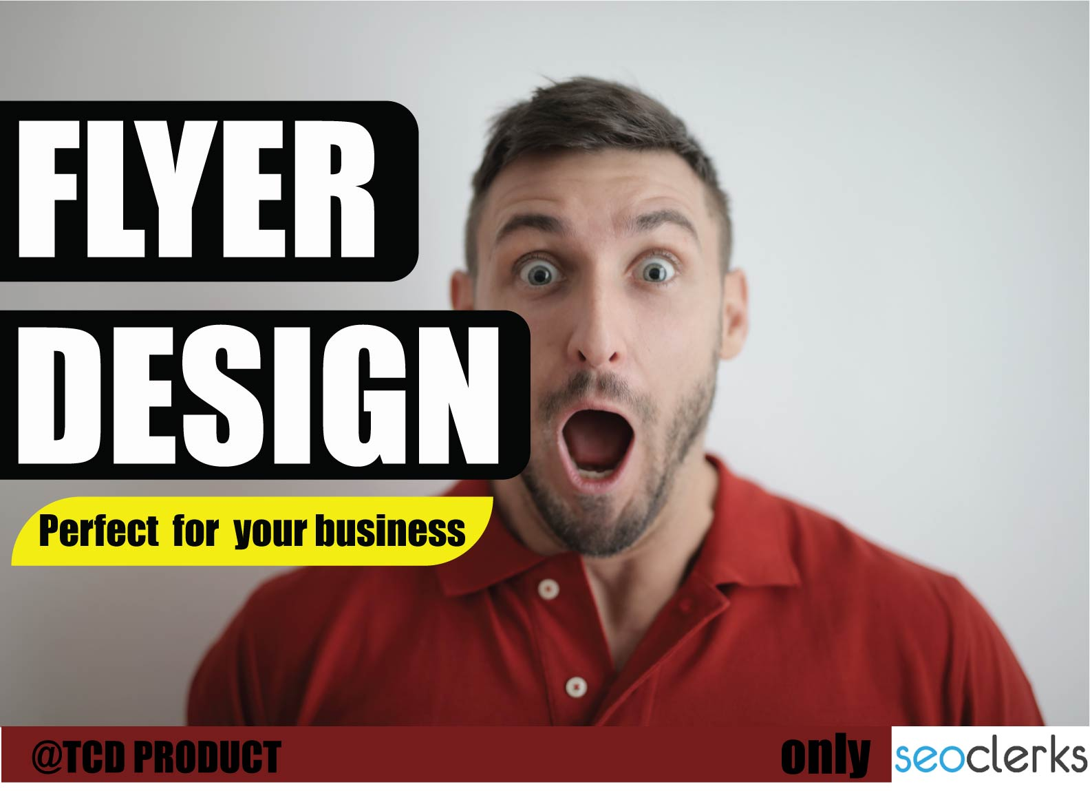 I will Design professional flyer, poster and brochures.