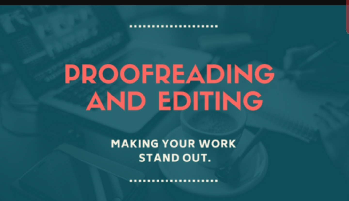 Proofread and edit your word dcoument, raw written books or novel
