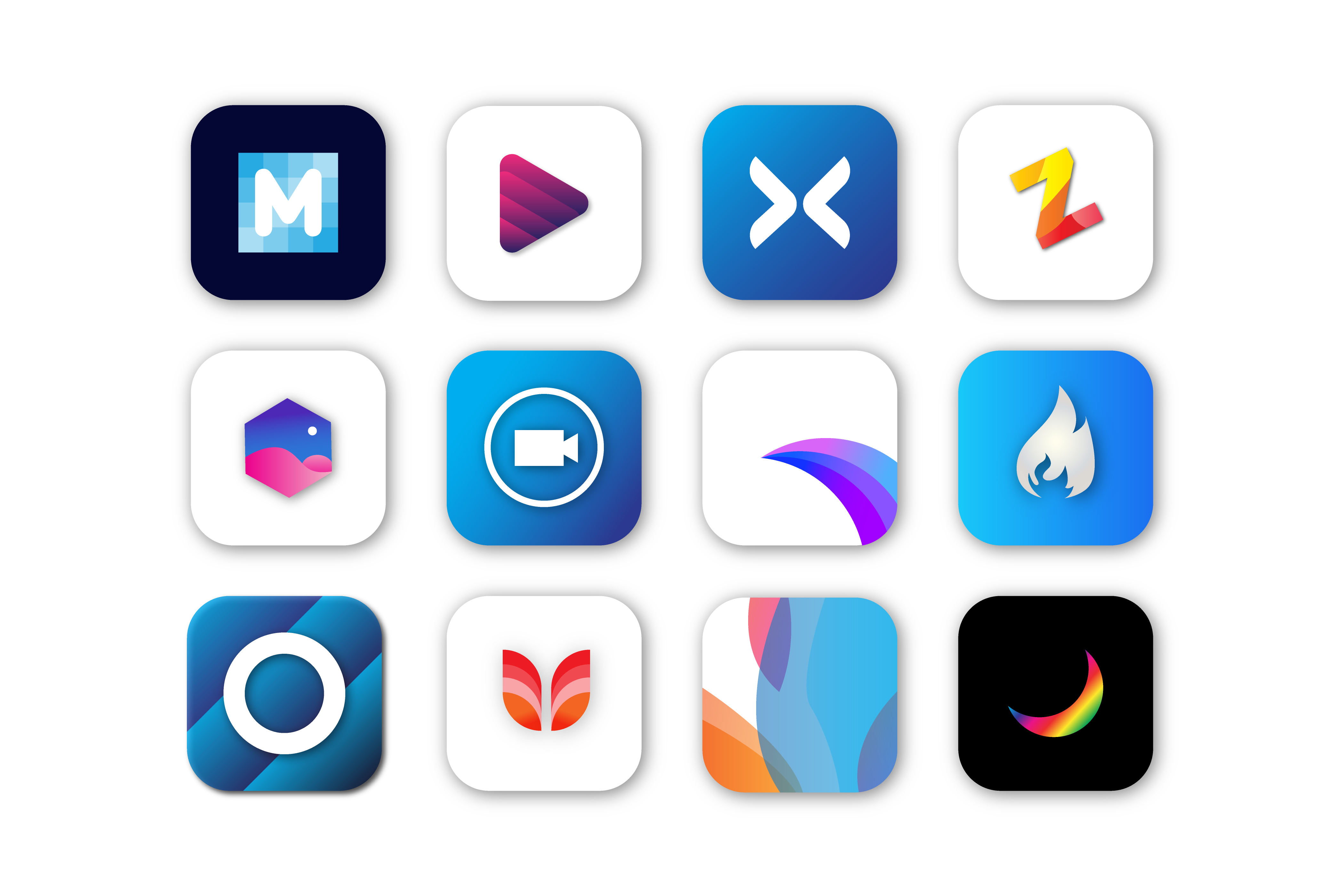 I will design your App or website modern Logo and Icon