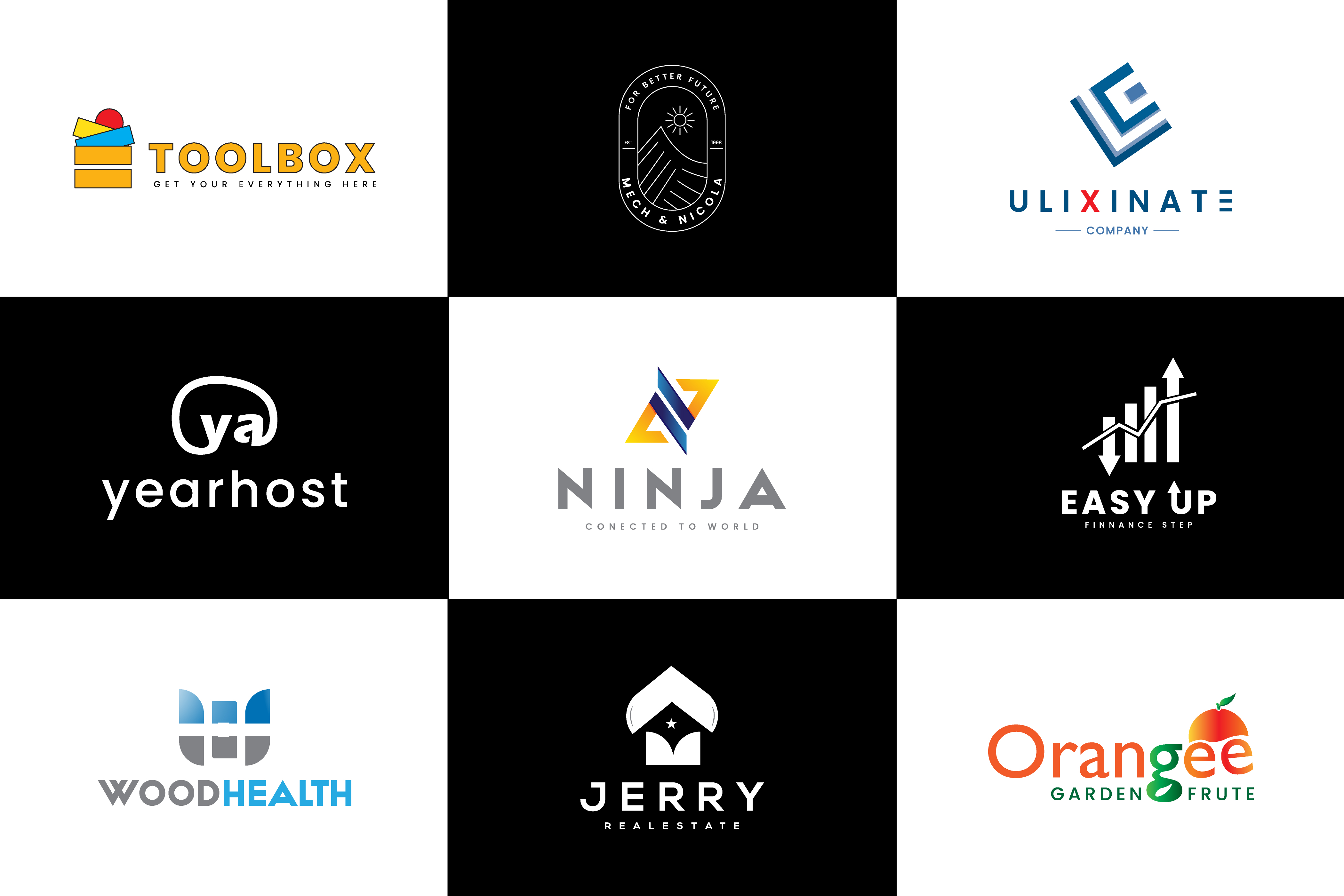 I will design attention corporate startup premium minimalist logo in 24 hours
