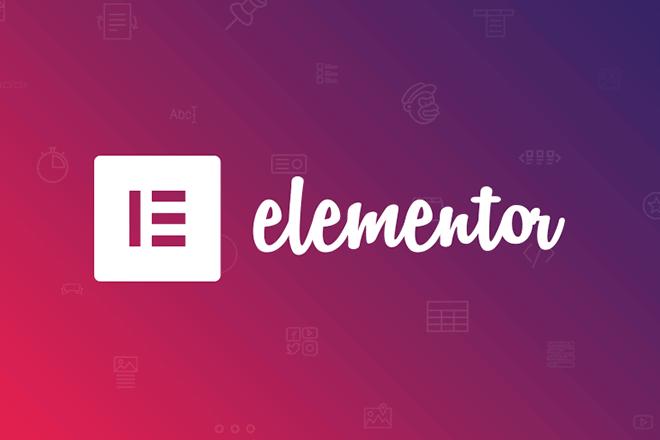 I will do website using elementor